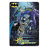 Batman In Foil Bag 45 Piece Jigsaw Puzzle Game