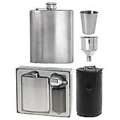 Stainless Steel Hip Flask and Accessories Kit