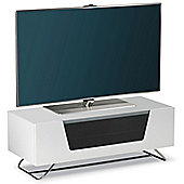 Alphason Chromium White TV Stand for up to 50 inch TVs