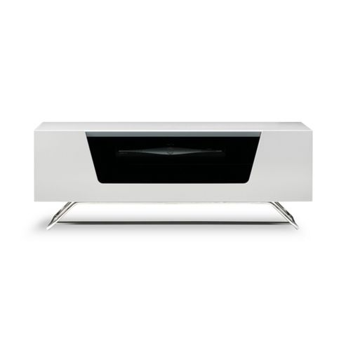 Buy Alphason Chromium White TV Stand For Up To 50 Inch TVs