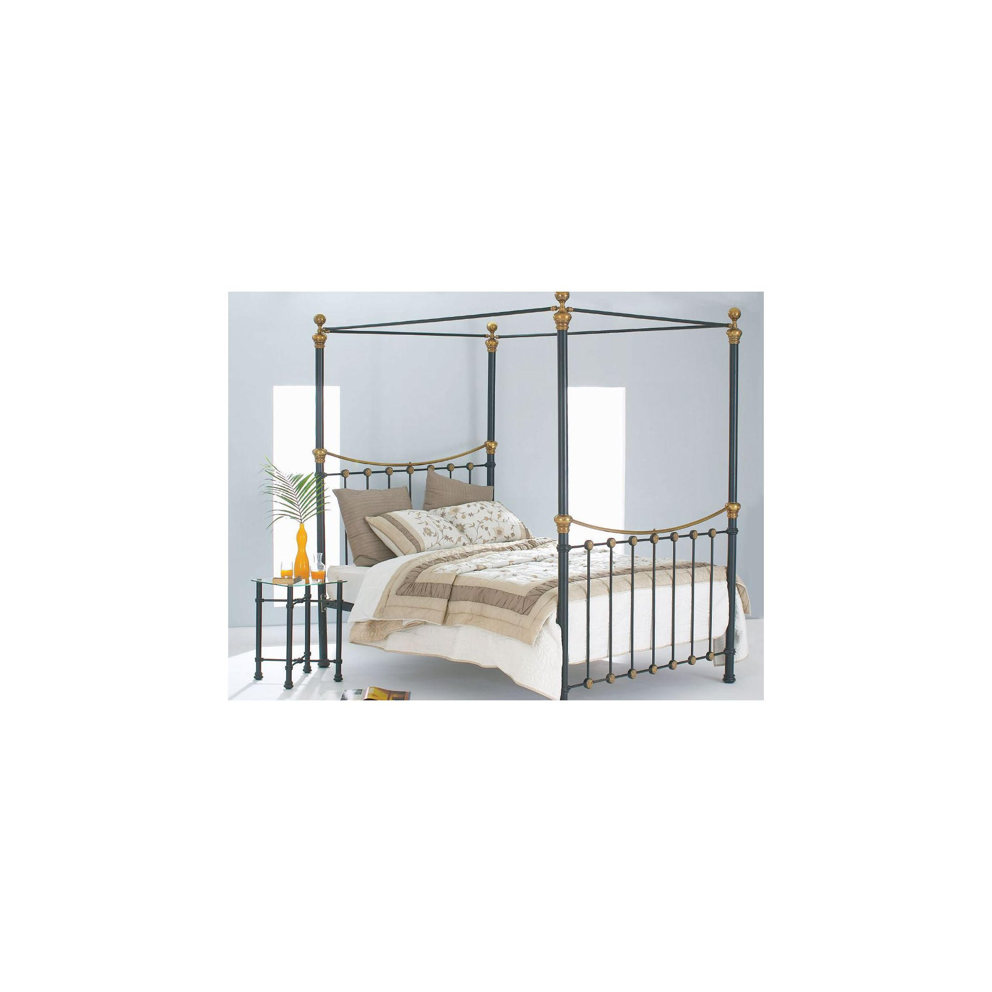 OBC Rannoch Bed Frame - Double at Tesco Direct