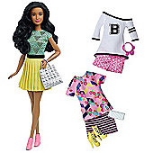 Barbie Fashionistas Fabulous Doll with Fashion Outfits