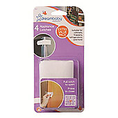 Appliance Latch x 4 - WHITE - F177 - Dreambaby