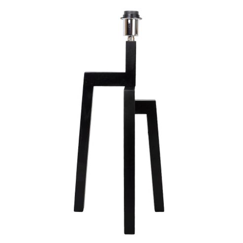 buy tiberius tripod step table lamp base dark wood from our table lamps range tesco. Black Bedroom Furniture Sets. Home Design Ideas