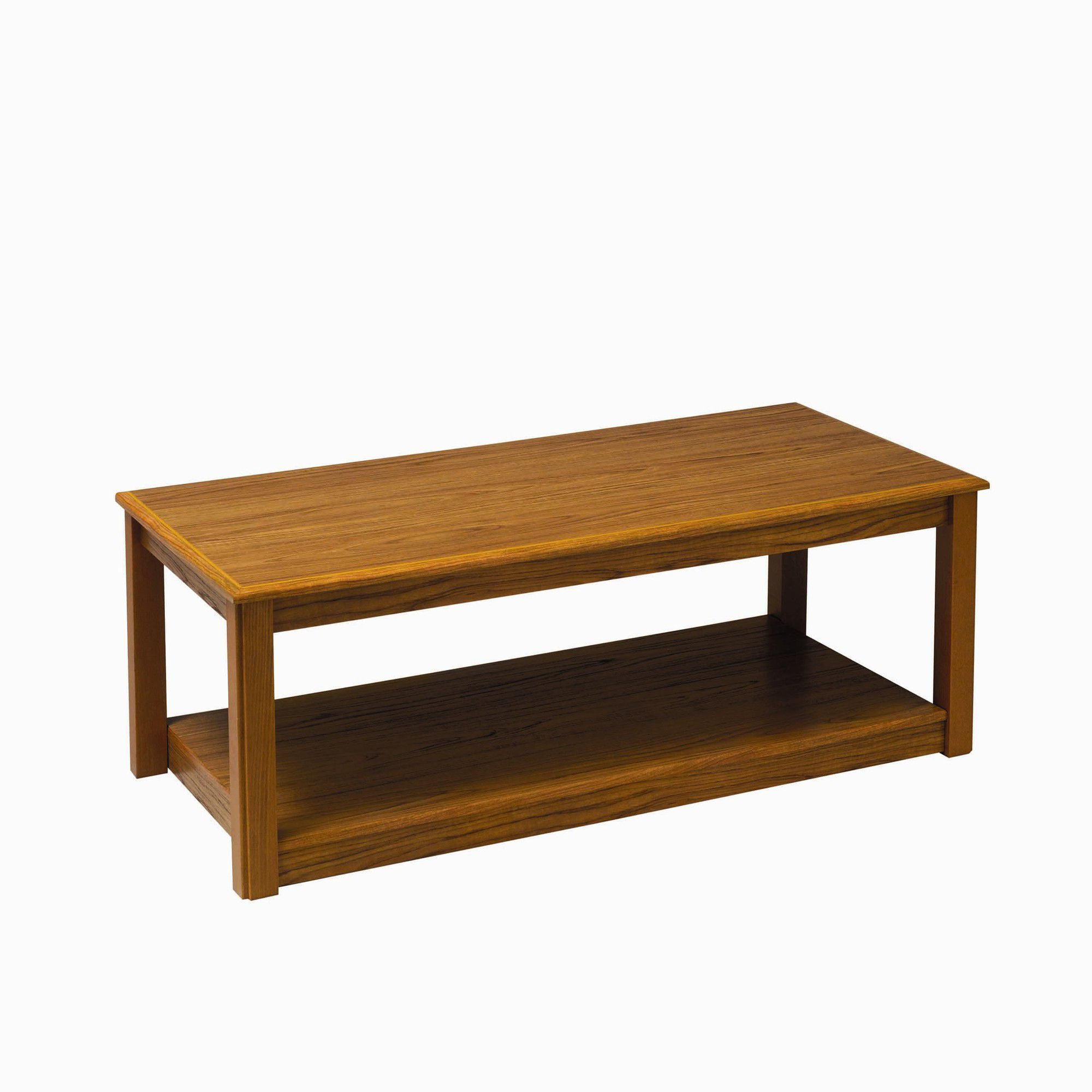 Caxton Tennyson Coffee Table in Teak at Tesco Direct