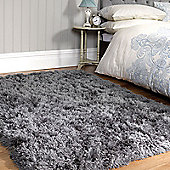 Flair Sumptuous Shaggy Rugs in Slate120x170cm