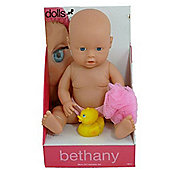 Dolls World Bathable Bethany Doll