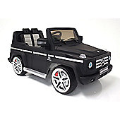 Kids Electric Car Mercedes Benz G55 12 Volt Black Matte