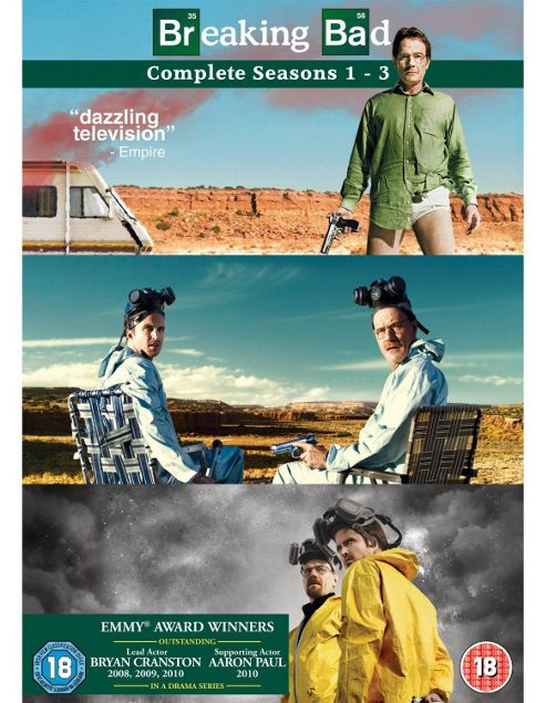Breaking Bad Series 1- 3 (DVD Boxset)
