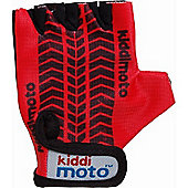Kiddimoto Gloves Red Tyre (Medium)