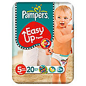 Pampers Easy Ups Size 5 Carry Pk 22