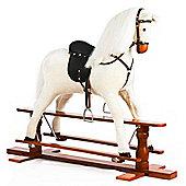 Large White Rocking Horse Precious