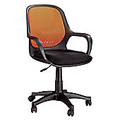Hispanohogar Office Chair - Orange
