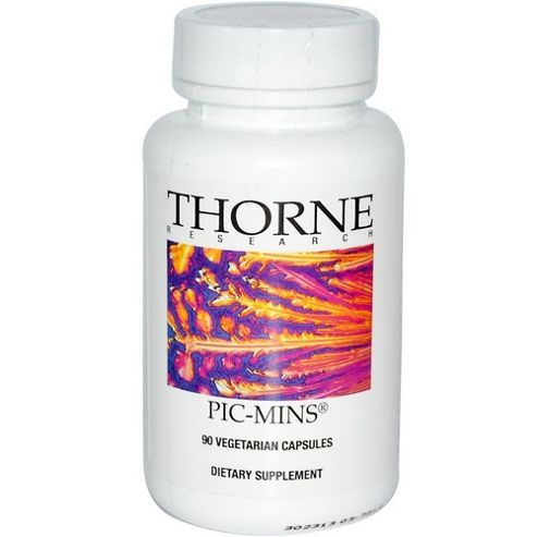 Thorne Research Pic-Mins 90 Veg Capsules