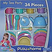 Keenway Play At Home My Tea Party 34 Piece