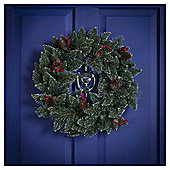 Traditional Christmas Wreath, 45cm