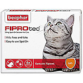Beaphar Fiprotec Flea Treatment for Cats 6 Pipettes