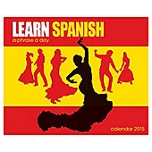 2015 Desk Daily Calendar - Learn Spanish