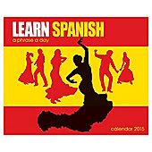 2015 Desk Daily Calendar - Learn Spanish