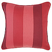 Tesco Cushions Hampton Stripe Cushion, Red