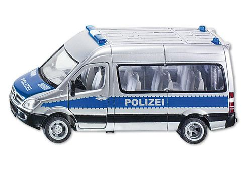 Police Team Van 4.5 - 1:50 Scale - Siku