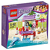 LEGO  Friends Emma's Lifeguard Post 41028