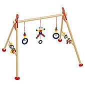 Heimess 739414 Wooden Baby Gym (Bear)