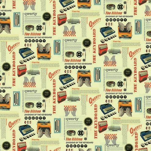 Gift Wrap - QWERTY