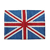 Lorena Canals Flag Classic Red and Blue Children's Rug - 120 cm W x 160 cm D (3 ft 11 in x 5 ft 3 in)