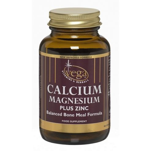Vega Calcium/Mag/Zinc 60 Veg Capsules