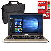 "ASUS X540LA-XX234T 15.6"" Laptop With BullGuard Internet Security & Case"