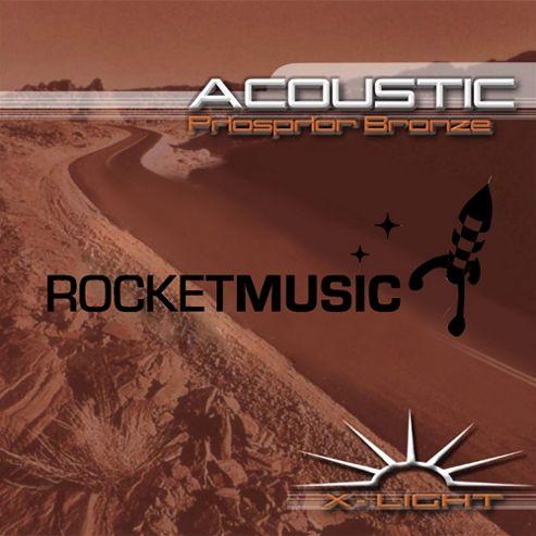 Rocket Phosphor Bronze Acoustic String Set-Extra Light