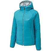 Craghoppers Ladies Compresslite Hooded Packaway Climaplus Insulated Jacket - Blue