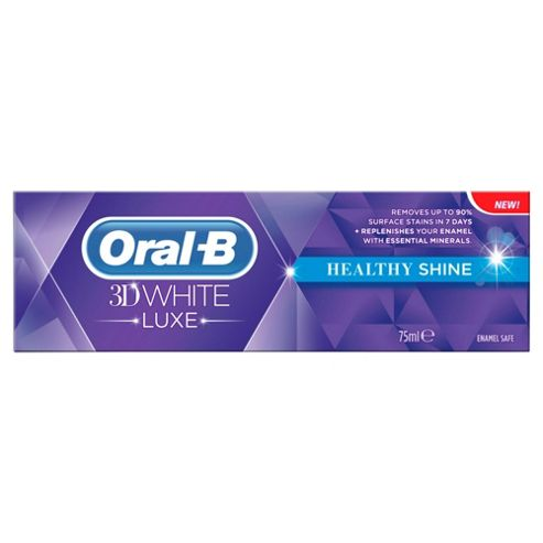 Oral B 3D White Luxe Healthy Shine Toothpaste 75Ml