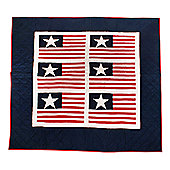 Woven Magic Independence Day Crib Throw