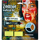 Halloween Special Effects Makeup - Zombie Woman Kit