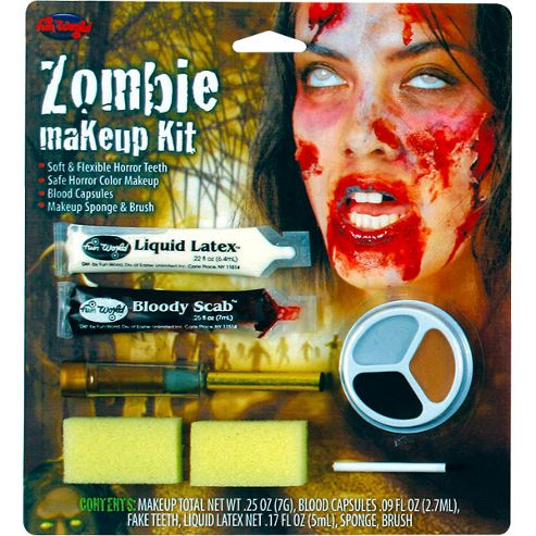 Zombie Halloween Makeup Special Effects Halloween Special Effects