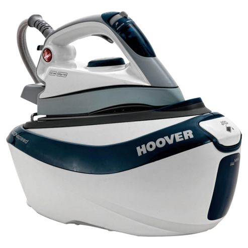 Hoover SFD4101/2 Easy Glide Ceramic Plate Steam Generator Iron - Teal & White