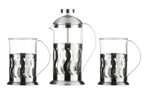 Premier Housewares 3 Piece Peru Design Cafetiere Set