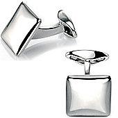 Fred Bennett Soft Square Sterling Silver Cufflinks