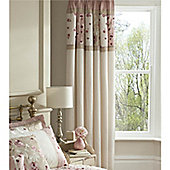 Catherine Lansfield Imogen 66x72 Curtains 168x183cm Pink