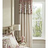 Catherine Lansfield Imogen 66x72 Curtains 168x183cm Pink