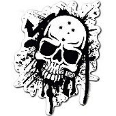 Madd Gear MGP Black & White Skull Sticker