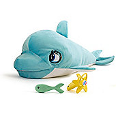 Blu Blu The Baby Dolphin Electronic Soft Toy