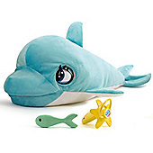 Blu Blu The Baby Dolphin Electronic Plush