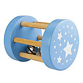 Bigjigs Toys BB051 Large Roll Rattle (Blue)
