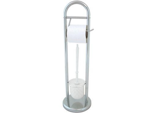 Aqualon 74305 Toilet Brush & Holder Stand Chr
