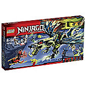 LEGO Ninjago Attack of Morro Dragon 70736