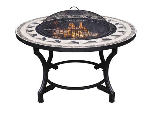 Gardeco Fb501 Calenta Mosaic Bbq Fire Bowl