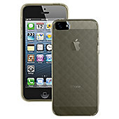 Case it Soft Silicone Glacier Case for Apple iPhone 5 - Black